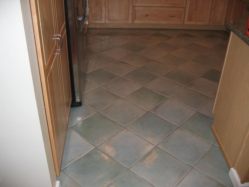 Kitchen tiling and flooring with joel braun construction for Kitchen and floor tiles